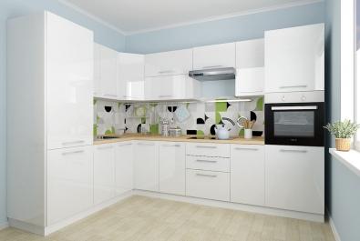 "Кухня ""Белая орхидея"""